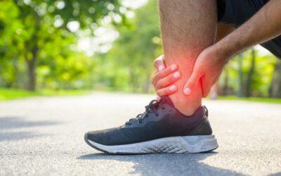 Osteopatía para esguince de tobillo